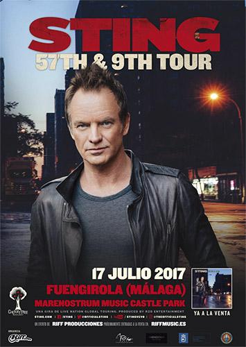 Conciertos en Fuengirola en mayo, junio, julio y agosto