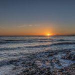puesta de sol en Mijas