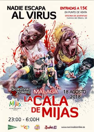 Survival Zombie 2018 in Mijas