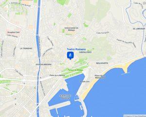 mapa teatro-romano