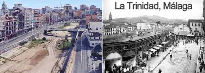 La Trinidad now and then