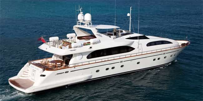 Falcon yatch in Estepona