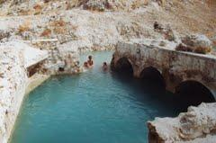 Hot springs in Zujar