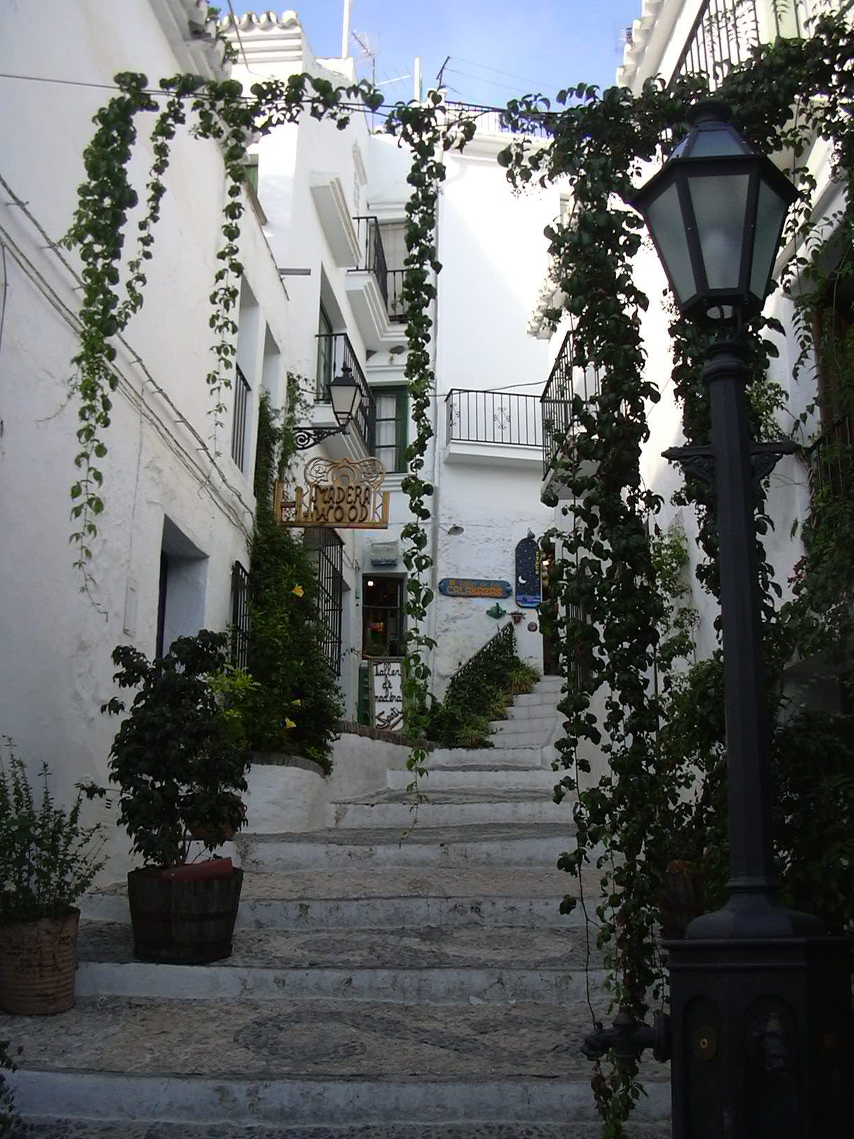 White Villages Pictures Frigiliana Malagaweb Pictures