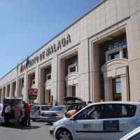 Malaga airport picture