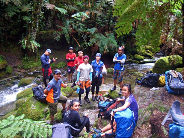 Stream Crossing in Mt APO