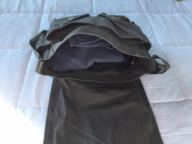 Rothco Messenger Bag Packed