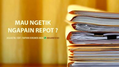Photo of Jasa Pengetikan Online (Kirim Dokumen bisa WA/MAIL)