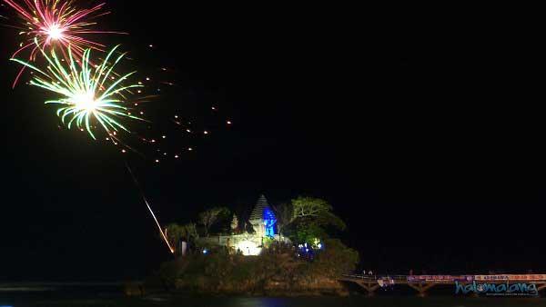 Tahun Baru di Pantai Balekambang Malang