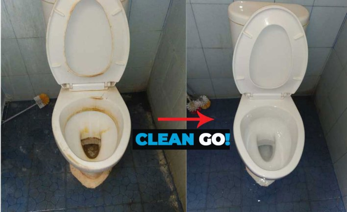 Cleaning Service Toilet