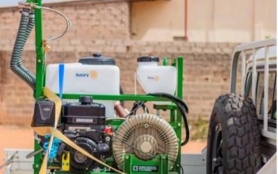 The GambiaFogging Machine Small Grant Project Launch
