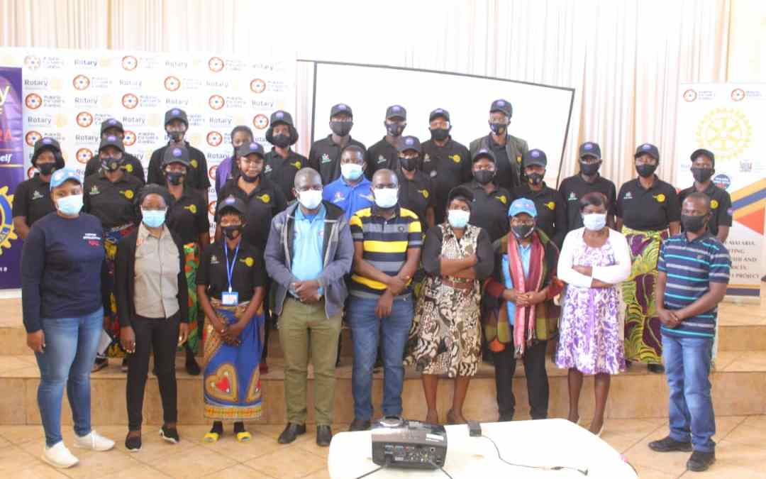 387 Community Health Workers Trained In Mufulira Copperbelt Zambia – Malaria Phase 2 Project