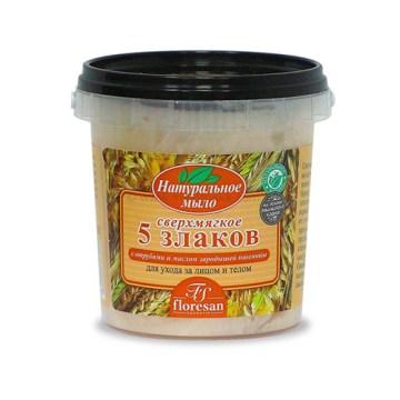 Prirodni šumski sapun 5 ŽITARICA 155 ml