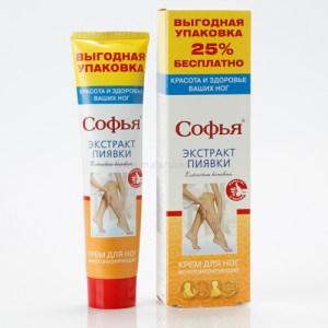 Ruski preparat SOFIJA Ekstrakt pijavice - krem za noge 125 ml u tubi