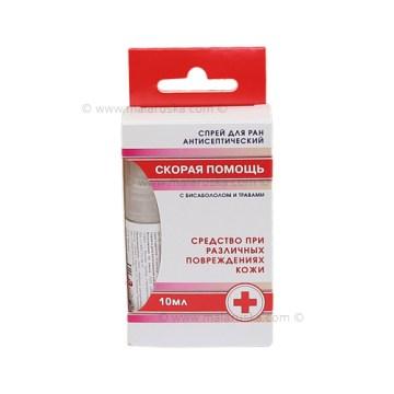 Sprej za rane antiseptički - (Brza) Hitna pomoć sa bisabololom i lekovitim biljem