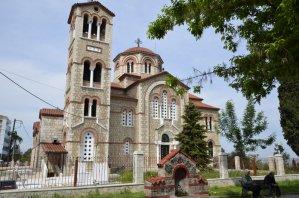 Salonika The church of Aghion Anargyron in Veroia