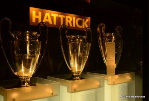 European Championship cups Bayern hat-trick 1975-1977