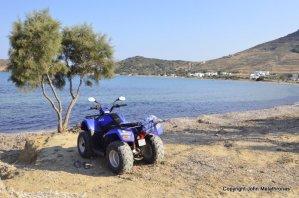 Quad Bike, Tsoukalia, Paros