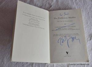 Chris Hitchens signature