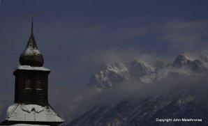 Tarasp view Switzerland