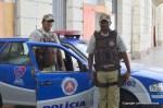 Policemen, Salvador carnival brazil