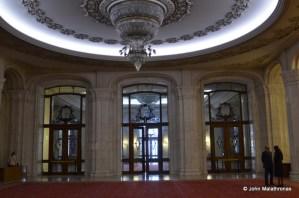 The main Entrance, Parliamentary palace, Bucharest