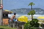 Boy surfer Guaruja
