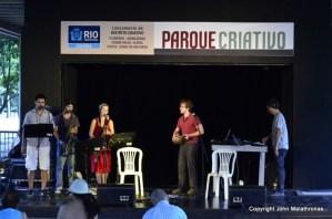 Jazz group, Flamengo beach, Rio de janeiro