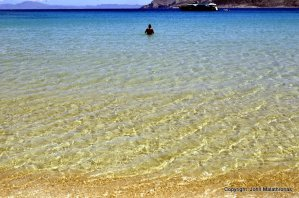 Crystal clean waters, Fanos Beach, Ano Koufonissi