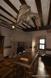The stuffed dragon Haut Koenigsbourg