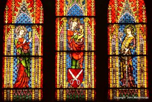 Tailors window in Freiburg Cathedral