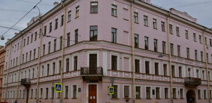 Dostoyevsky's apartment block at S-Place where he wrote Crime and Punishment