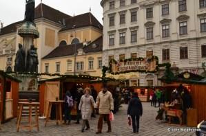 entrance, Christmas market, Altwiener Christkindlmarkt (Freyung) , Vienna