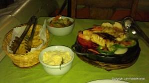 My meal in Casa da Esquina Brazil Porto Seguro