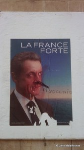Sarkozy election poster, 2012