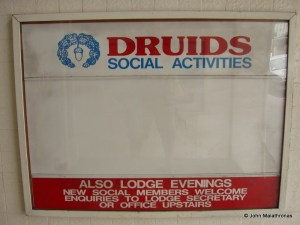 Druids and Masons share a club in Christchurch