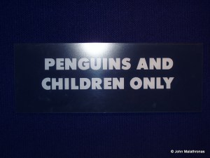 Penguins and Children only