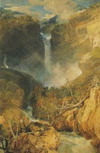 "J. M. W. Turner's ""The Falls of the Reichenbach"""