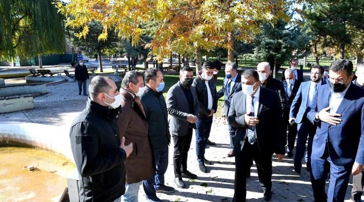 Başkan Gürkan Sümer Park Esnaflarıyla Bir Araya Geldi