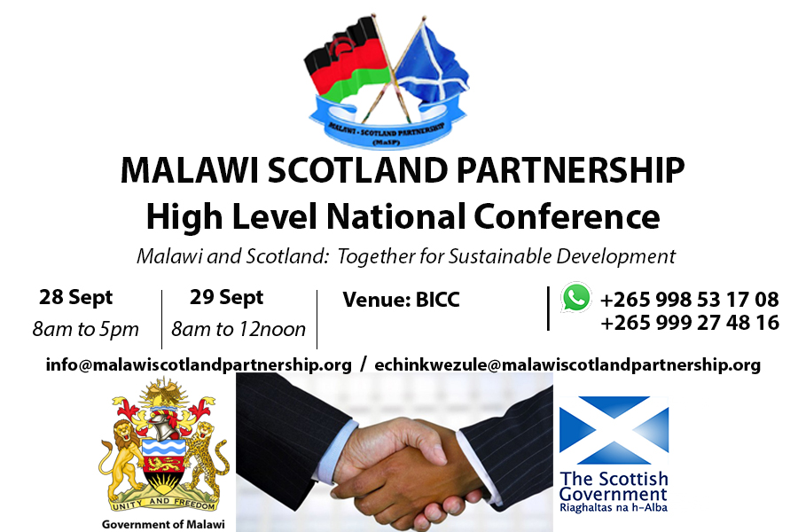 Malawi Scotland High Level National Conference