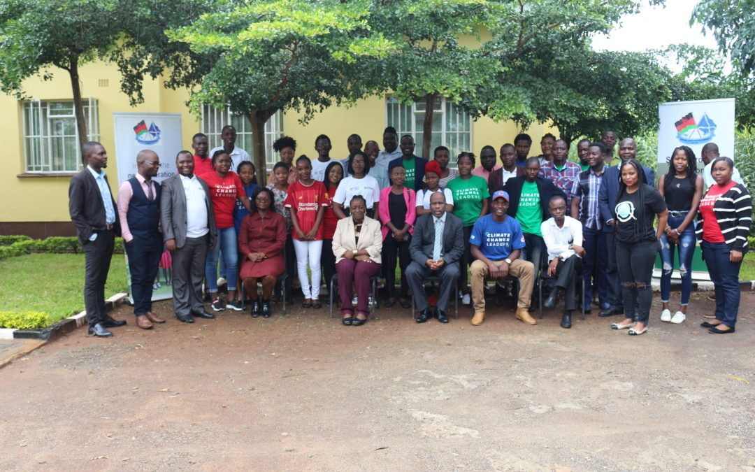 MaSP Conducts Climate Change Young Leaders Training as COP 26 Preparations Continue