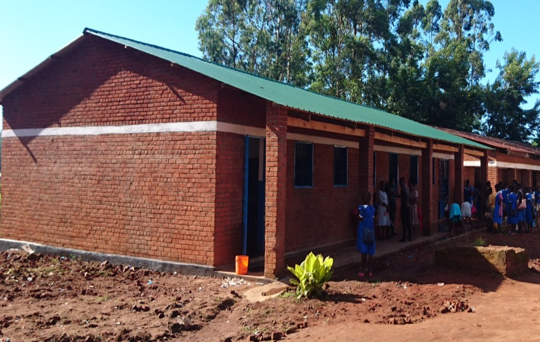 Classrooms for Malawi Providing Suitable Learning Environments