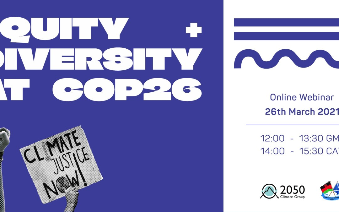Equity and Diversity at COP26