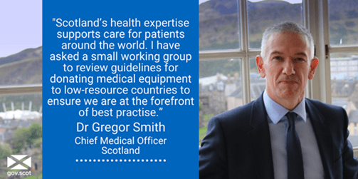 9 JULY DEADLINE – Review of the Standards Required for Donations of Medical Equipment