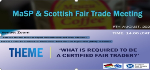 MaSP and  Scottish Fair Trade Meeting