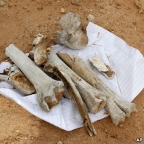 Exhumed Bones Believed to Bring Good Luck?