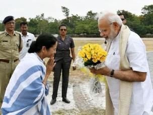 Image result for MAMATHA AND MODI