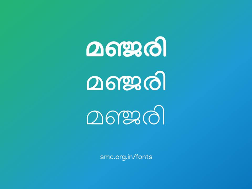 Manjari malayalam unicode font download - Available in bold, regular, thin style variants