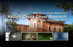 Kellie's Castle ghost research