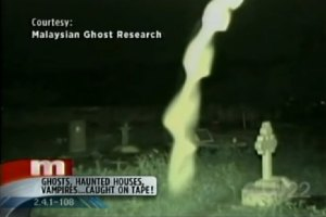 The Dragon Vortex a footage of Malaysian Ghost Research shown on Maury Show in USA.